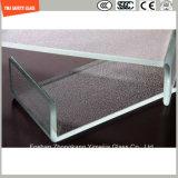 ホテルのシャワーのための3-19mmの安全構築ガラス、ワイヤーガラス、薄板になるガラス、パターン平らなか曲がった緩和された安全ガラスまたはSGCC/Ce&CCC&ISOの区分