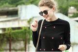 Sweater van het Kasjmier van de Hals van vrouwen de Ronde (13brdw033)
