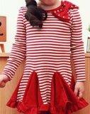 Chemise manches longues rayé robe de princesse D28