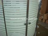 Cerco do chuveiro com linhas (E-01L)