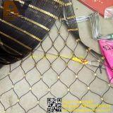 Acoplamiento de la cuerda de alambre de acero inoxidable para el bolso anti del hurto