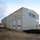 Bouw van de Structuur van het Staal van lage Kosten de Modulaire als Workshop en Pakhuis