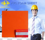Feuille de mousse PVC orange pour la décoration d'affaires 1 à 5 mm