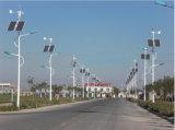 교통 신호 재생 가능 에너지 힘 잡종 작은 바람 터빈 발전기 태양 전지판