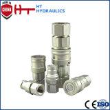 Pheumatic de acoplamiento rápido hidráulico de la fábrica China alimentación por tubo flexible hidráulico el acoplador rápido