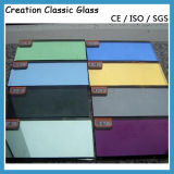 Vetro riflettente blu scuro per il vetro di vetro/finestra della mobilia