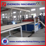 Plaque d'onde de PVC/ligne glacée d'extrusion de tuiles de toiture à Qingdao Zhongsu