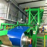 공장 공급 강철 지구 코일 롤 색깔 코팅 기계장치 선