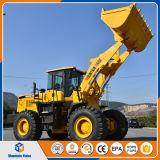 중국 무거운 극히 중대한 기계장치 5 톤 바퀴 로더 프런트 엔드 로더 큰 로더 가격