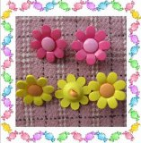 Shank colorato Buttons Sunflower Shape per Children