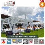 Tenda trasparente utilizzata per gli eventi di golf