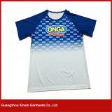 Stutzen-T-Shirt 100% neues des Entwurfs-Polyester-normales Sport-V für Männer (R154)
