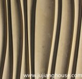 Aufbauende Außenfassade für kultivierten Stein