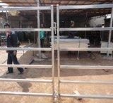 El tubo oval de Australia Caliente-Sumergió el panel galvanizado del corral/el panel de acero del caballo