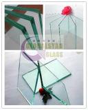 vidro de flutuador do espaço livre de 3-10mm/vidro reflexivo