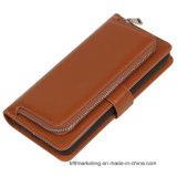 Многофункциональное кожаный iPhone Samsung аргументы за мобильного телефона бумажника