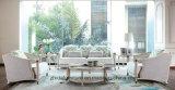 Sofá secional do couro da tela da combinação de canto moderna exclusiva ajustado para a mobília Home da sala de visitas do hotel