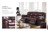 Model à la maison 918 de sofa de cuir de Recliner de meubles