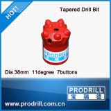 32mm Diameter 12 Degree Tapered Drill Bit for Drill