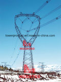 500kv Tangent Single Circuit Compact Overhead Transmission Tower