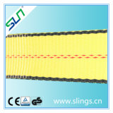 3t * 5m Polyester Double Eye Webbing Sling Safety Factor 7: 1