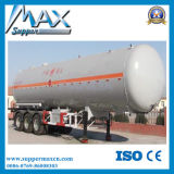 Saleのための圧力Tank Trailer 60m3 LPG Methane Gas Storage Bullet Tank