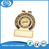 Promotion de l'argent les clips de métal bon marché personnalisé
