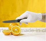 Kleines MOQ konkurrenzfähiger Preis-Wegwerfpuder-freie Nitril-Handschuhe für Lebensmittelindustrie