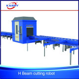 Coupeur en acier et Beveler de commande numérique par ordinateur de plasma de poutre en double T