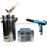 Pistola de pintura eletrostática por pó Mini caixa de spray de tinta em pó de Laboratório