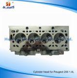 Peugeotのための自動車部品のシリンダーヘッド206 1.4/1.6 9634005110 9656769580