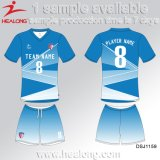 Camice calde di gioco del calcio dei ragazzi di banco di sublimazione dell'attrezzo dei vestiti di vendita di Healong da vendere