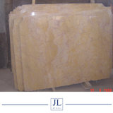 Crema Valence Prix en marbre crème jaune Marfil pour mur/Flooring Tile Décoration intérieuredalles de pavage de la machine