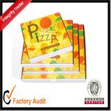 Grosse Fabrik kundenspezifischer preiswertester lamellierter gewölbter Pizza-Kasten mit Drucken, Karton-Kasten, Papiergeschenk-Kasten, verpackenkasten