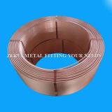 El nivel normal de la bobina de la herida del tubo de cobre en el aire acondicionado