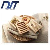 Handgemachter quadratischer Bambusseifen-Kasten mit nach Maß