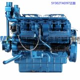 12cylinder, Cummins, 308kw, motor diesel de Shangai Dongfeng para el sistema de generador,