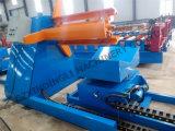 Decoiler hidráulico com máquina de formação de rolo de carro