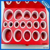 Caixa Vermelha de borracha de borracha Mertic O-Ring Assortment Kit