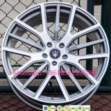 Os aros das rodas forjadas de carro automático Maserati Réplica Jantes de liga leve