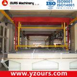Überzug-Zeile des Zylinder-200L, ue-förmig automatische Zahnstangen-Überzug-Zeile