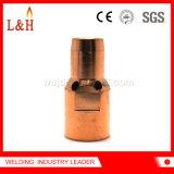 Extremidad de la soldadura del difusor de gases PSF400 para el sostenedor de la extremidad del contacto de la antorcha de Esab