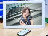15,4 pouces Cadre photo numérique de 15 pouces, cadre photo numérique MP4 vidéo Jouer