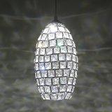 Moderner Kristall bördelt hängende Lampe (WHP-980)