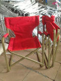 Алюминиевый директор Стул, стул пляжа, удя стул, алюминиевый стул складчатости