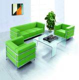 Office Furniture (70011)のための革Sofa
