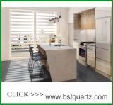 Countertop камня кварца 5111 Statuario Nuvo для кухни