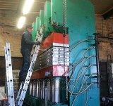 Prensa de vulcanización con el SGS, ISO, Ce de la pisada del neumático
