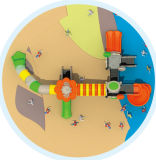 Apparatuur van uitstekende kwaliteit hD-Tsb009 van het Spel van de Speelplaats van Kinderen de Openlucht