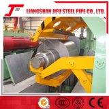 Bobina hidráulica del acero inoxidable del CNC que raja la línea